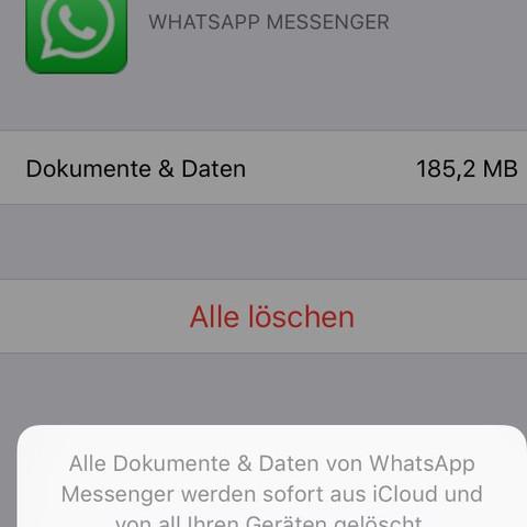 Bleiben meine aktuellen Chat vorhanden ? - (WhatsApp, Backup, icloud)