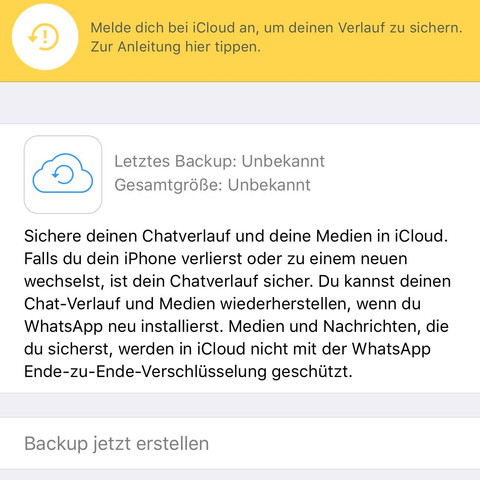 ..... - (iPhone, WhatsApp, iTunes)