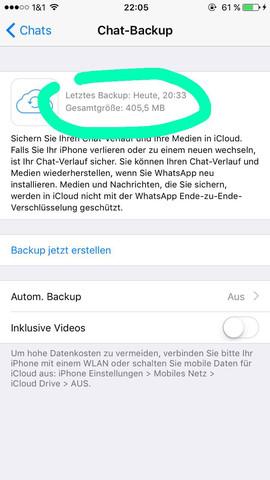 Wiederherstellen neues chats handy whatsapp Gelöst! WhatsApp