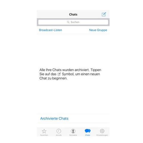 Whatsapp Chats Gelöscht Oder Noch Hoffnung Liebe Technik Sex