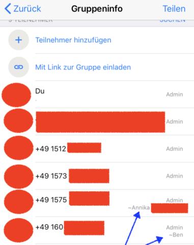 Whatsapp Gruppen Chat Bei Unbekannten Kontakten Whatsapp
