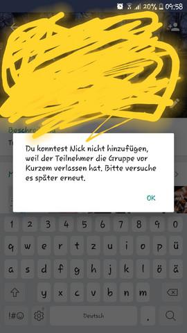 Beitreten lustige whatsapp gruppen Ausgefallene gruppennamen