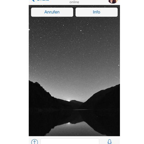 Profilbild Whatsapp Schwarz