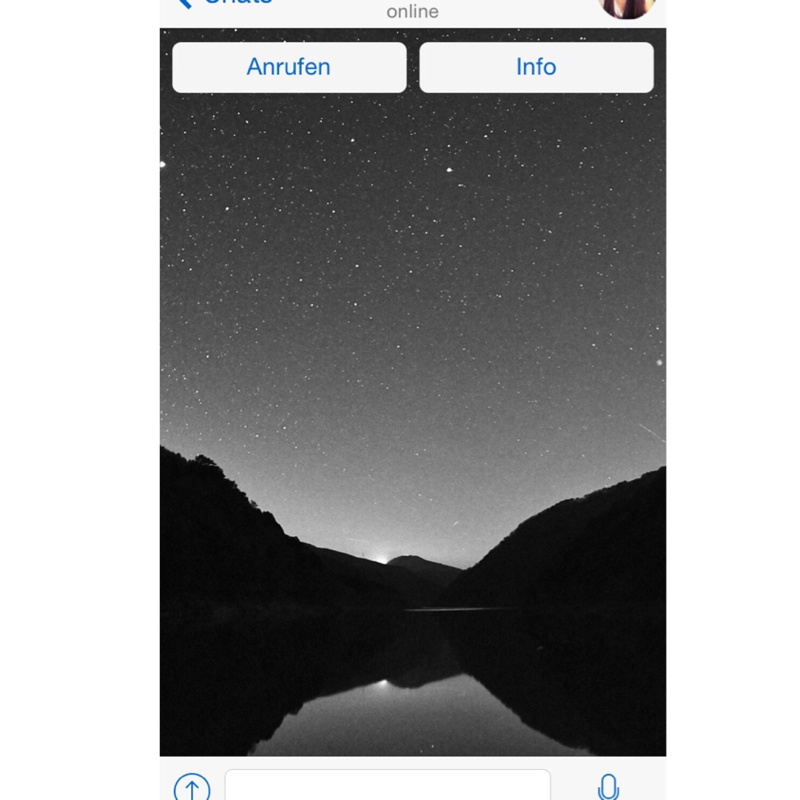 Whatsapp In Schwarz