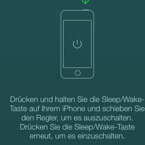 Und dieses Bild gehört dazu - (Handy, iPhone, Apple)