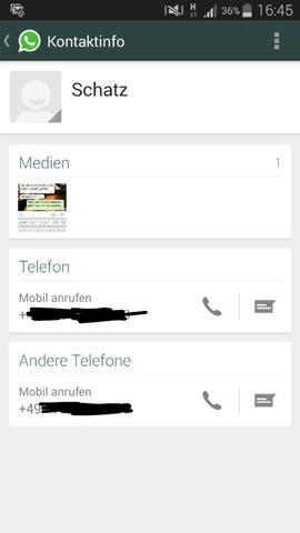 Whatsapp Kontaktdetails Werden Nicht Angezeigt Handy