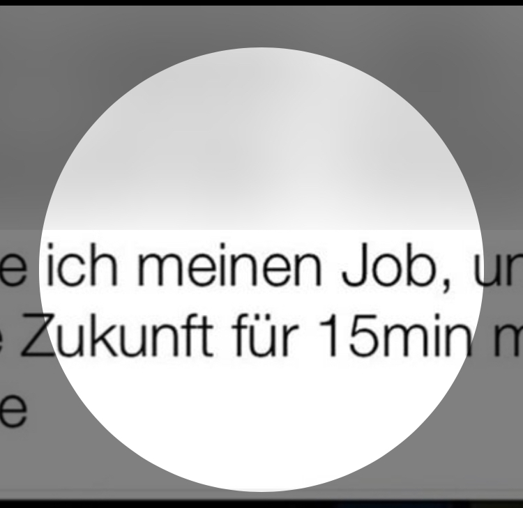 WhatsApp Profilbild nicht groß genug? (Computer, Internet)