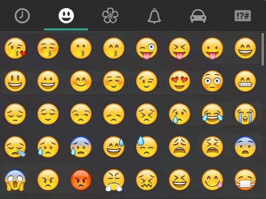 Whatsapp smiley, was bedeutet er? (Handy, SMS)