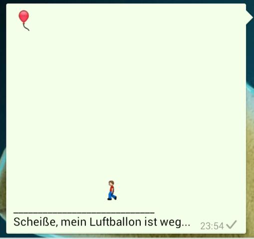 Luftballon - (Smartphone, Bilder, WhatsApp)