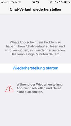 Meldung 1 - (Computer, WhatsApp, Update)