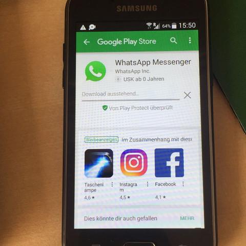 whatsapp update auf samsung galaxy j1 nicht m glich was tun handy android. Black Bedroom Furniture Sets. Home Design Ideas