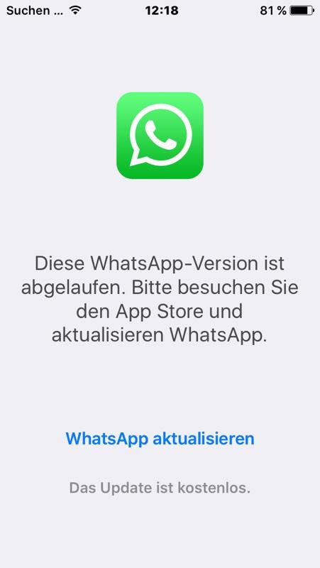 Whatsapp Abgelaufen Kostenlos Verlängern