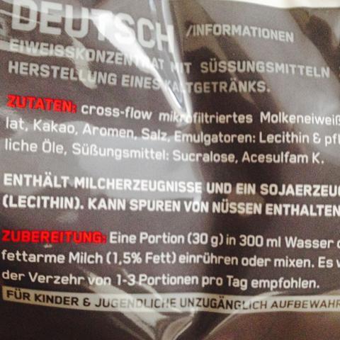 Steht ''enthält Milcherzeugnisse'' wäre es also für mich tabu? - (Gesundheit, Sport, Fitness)