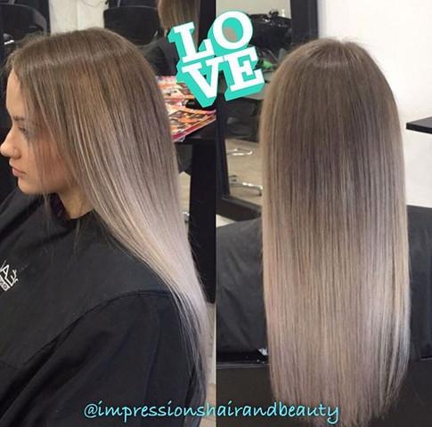 White Ombré Hair - wie würde das verlaufen?
