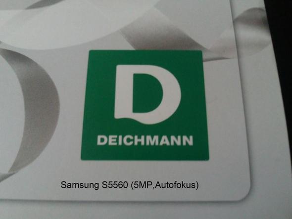 Geschossen mit Samsung S5560 - (Internet, Handy, Technik)