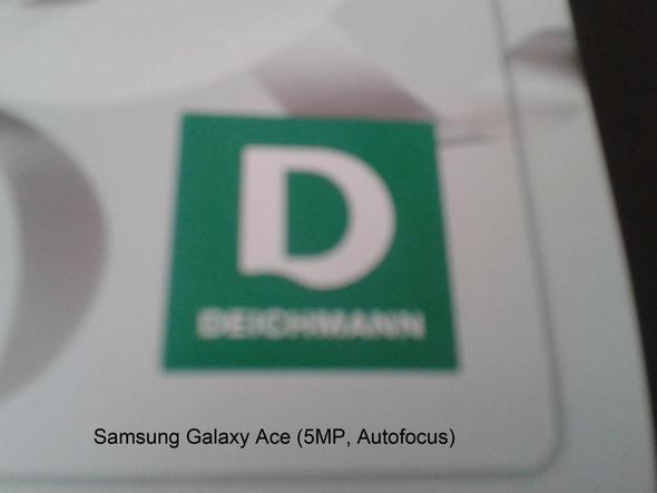 Geschossen mit Samsung Galaxy Ace - (Internet, Handy, Technik)