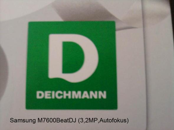 Geschossen mit Samsung M7600 Beat DJ - (Internet, Handy, Technik)