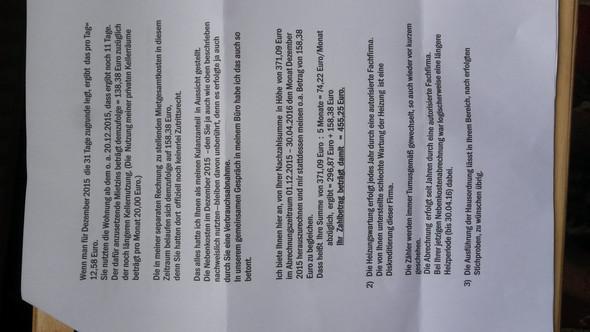 Antwort des Vermieters - Seite 2 - (Wohnung, Mietrecht, wohnen)