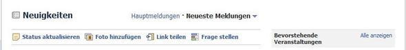 Hier sieht mann es. - (Facebook, Status)