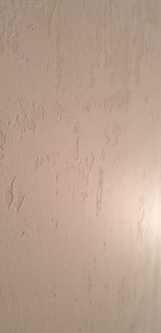 - (Wand, renovieren, glätten)