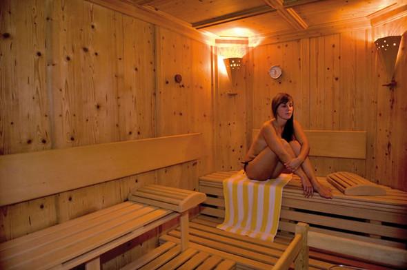 Atmung in der Sauna - (Atmung, Sauna)