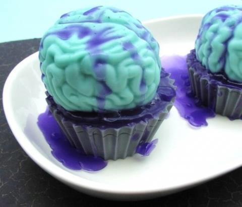 Der Cupcake - (Rezept, backen, Halloween)