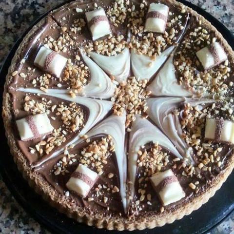 Kuchen mit Kinderbueno  - (Rezept, backen, Kuchen)