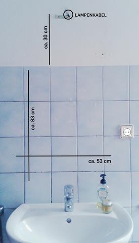 Wie Badspiegel Anbringen Heimwerkertipp Gesucht Elektrik Bauen