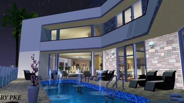 95 sims 3 modernes haus zum nachbauen sims 3 moderne h user grundrisse leto loft welcome to. Black Bedroom Furniture Sets. Home Design Ideas