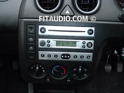 das das radio nur das die linke leiste auf der rechten seite ist - (Auto, Ford)