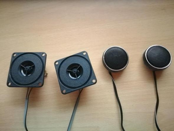 Die 4 kleinen  - (Musik, Lautsprecher, Radio)