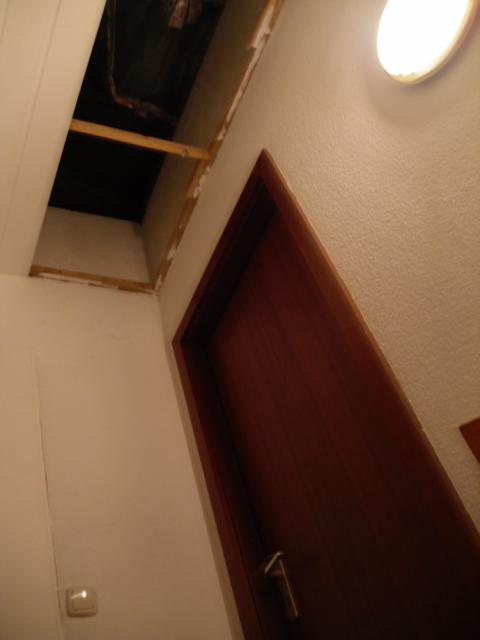 wie baue ich in diesem fall am besten eine fallt r ein. Black Bedroom Furniture Sets. Home Design Ideas