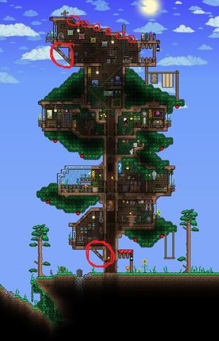 Wie Baut Man Bei Terraria Querbalken Games Gaming PCSpiele - Minecraft terraria spielen