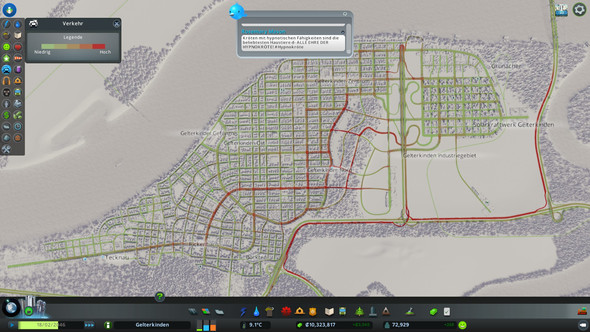 Verkehr - (Computer, PC, Stadt)
