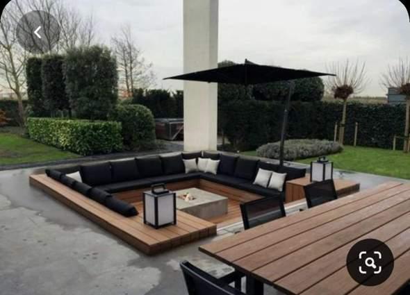 Wie baut man so eine Terrasse?