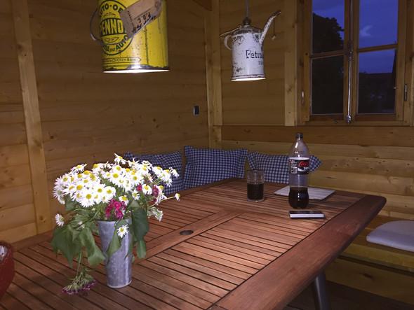 Der alte Tisch - (Holz, heimwerken, lackieren)