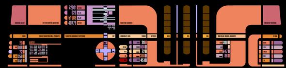 Hier die Konsole. - (Star-Trek, SciFi)