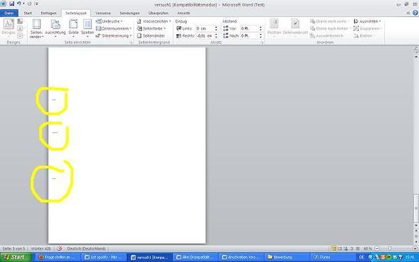 Wie Bekomm Ich Bitte Bei Word 2010 Diese 3 Striche Von Der Linken Seite Weg Microsoft Office Zweitausendzehn