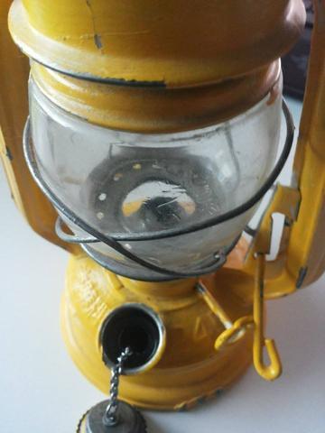 Glassheber oben und Öl einfüller ofen  - (Öl, Docht, oellampe)