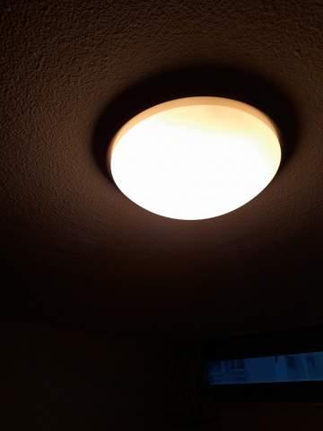 Wie bekomm ich die Lampe ab?