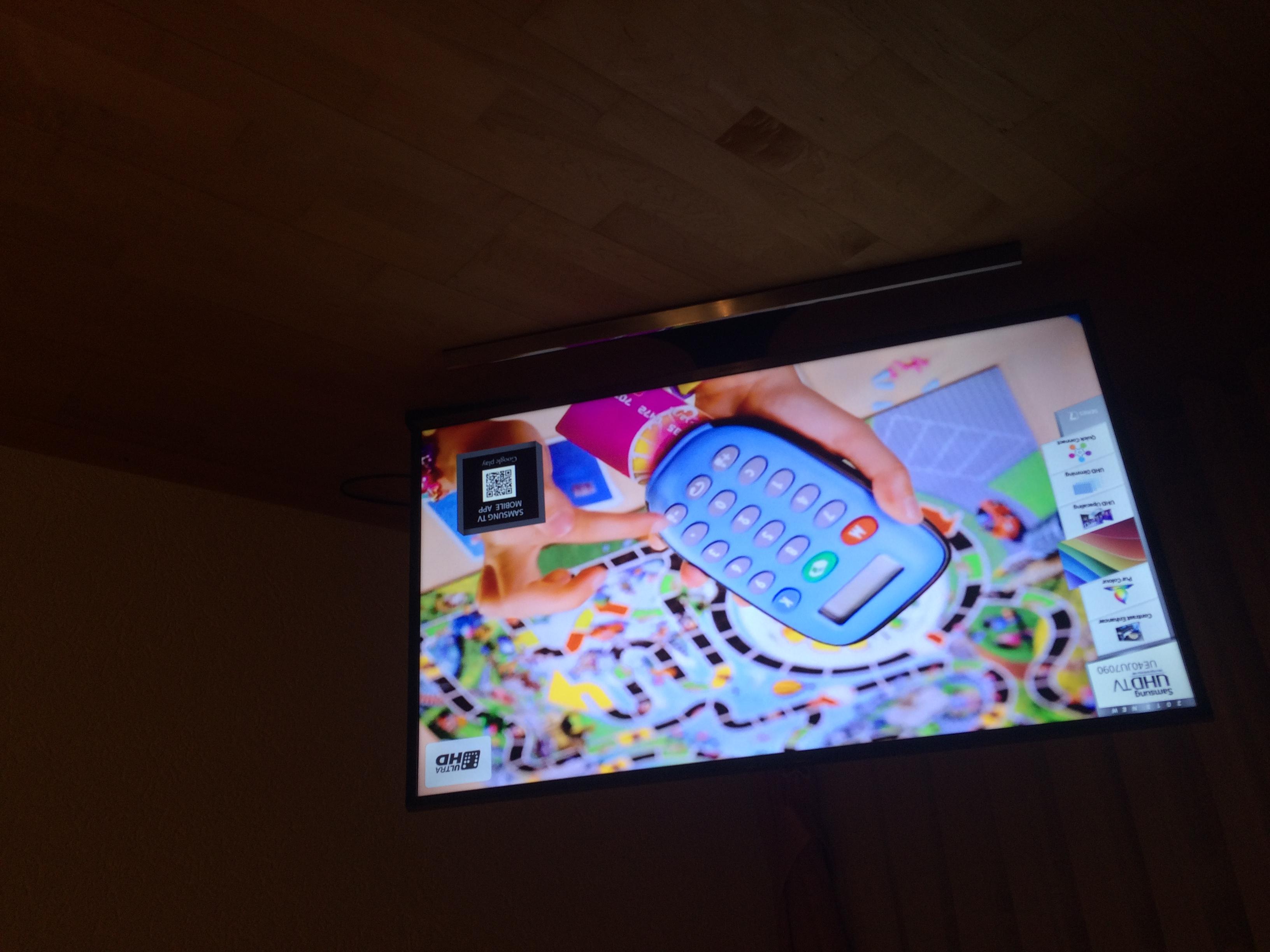 Samsung Fernseher Werbung