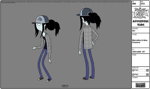 marceline-baseball-cap firsur - (Haare, Frisur, Kostüm)