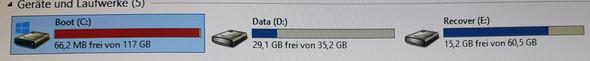 Bild 1  - (PC, Festplatte, Daten)