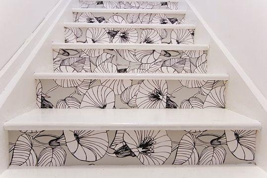 wie bekomm ich so eine treppengestaltung hin haus material gestalten. Black Bedroom Furniture Sets. Home Design Ideas