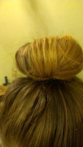 Den Dutt den ich gern hätte :) - (Haare, Beauty, Styling)