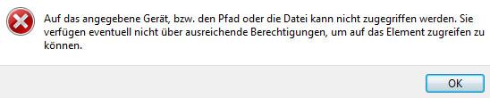 Fehlermeldung beim ausführen der .exe Datei - (Computer, Windows, Programm)