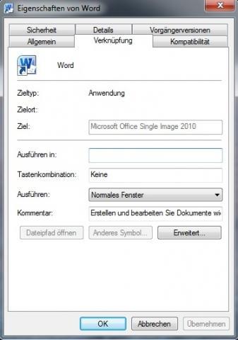 Rechtsklick -> Eigenschaften - (Computer, PC, Software)