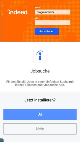 Werbung - (Handy, Smartphone, Android)