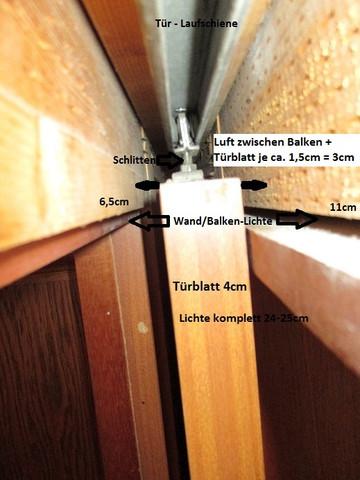 Schlitte in der Schiene - (Haus, Wohnung, Tür)