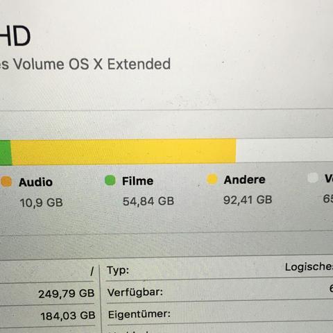 Datein wegbekommen (andere) - (Mac, OS, Datein)
